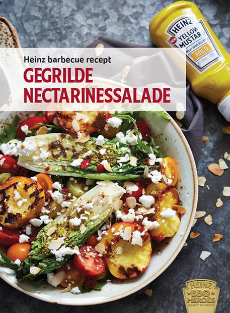 gegrilde nectarinesalade heinz