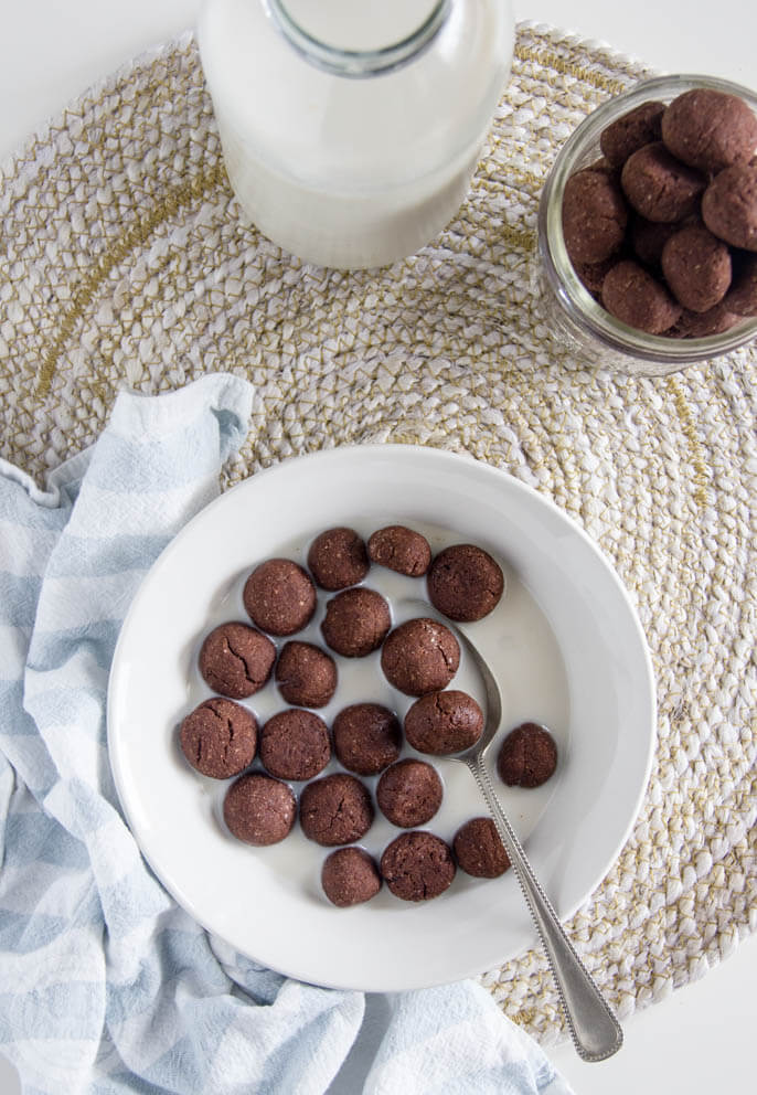 Cacao puffs