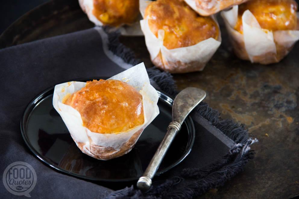 Skyrmuffins met appel en kaneel