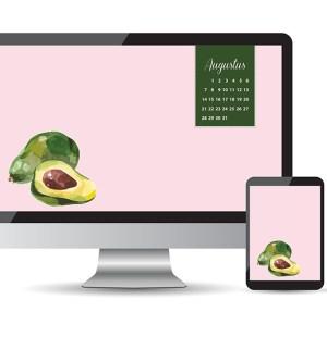 avocado achtergrond