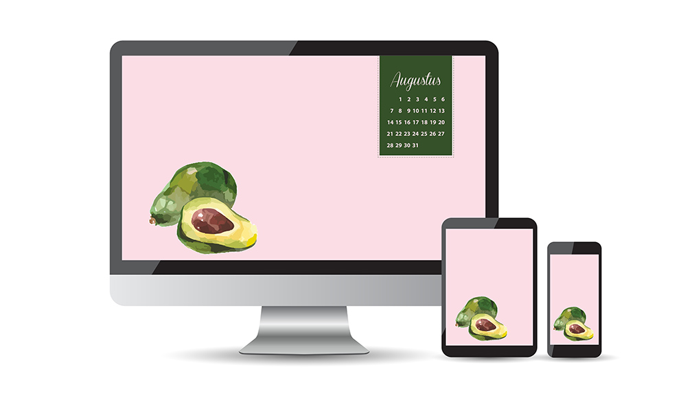 Avocado achtergronden