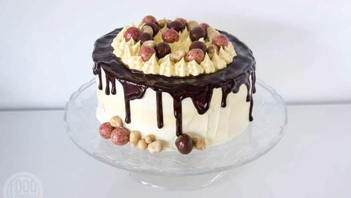 Dripcake witte chocolade botercreme