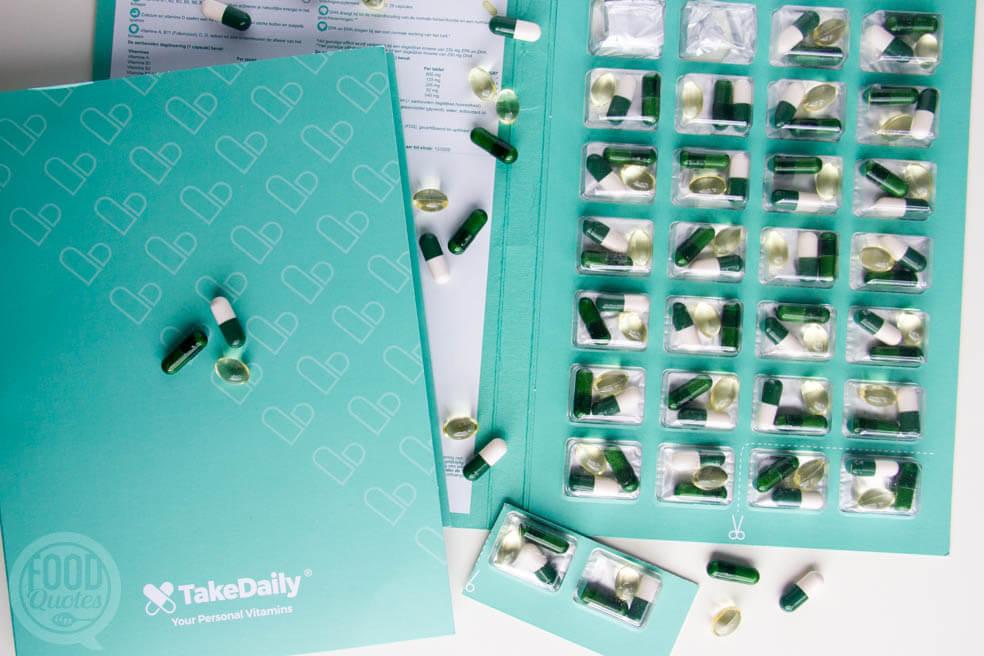 TakeDaily, voor je dagelijkse vitamines +kortingscode