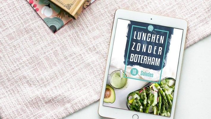 Lunchen zonder boterham