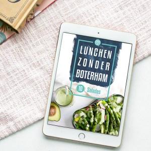 Lunchen zonder boterham cover
