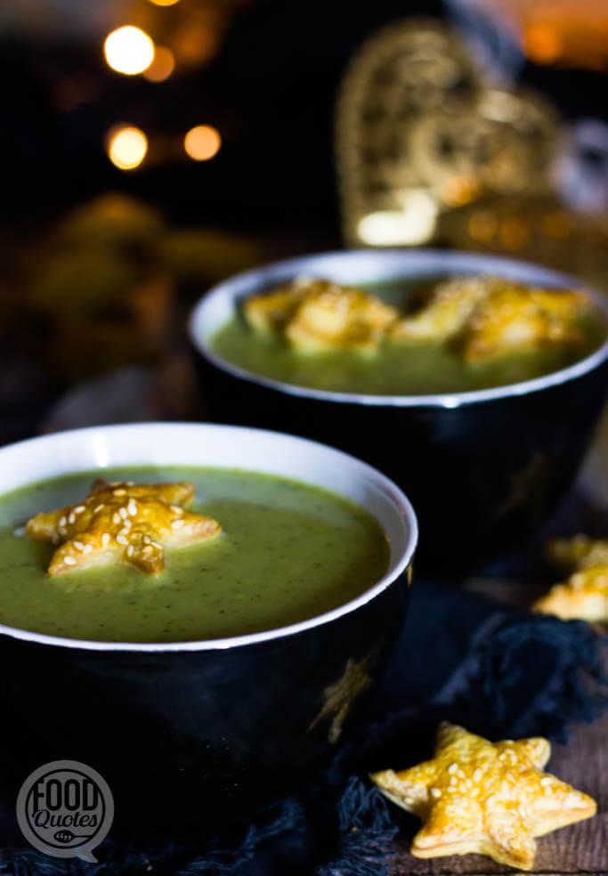 Romige broccolisoep twist