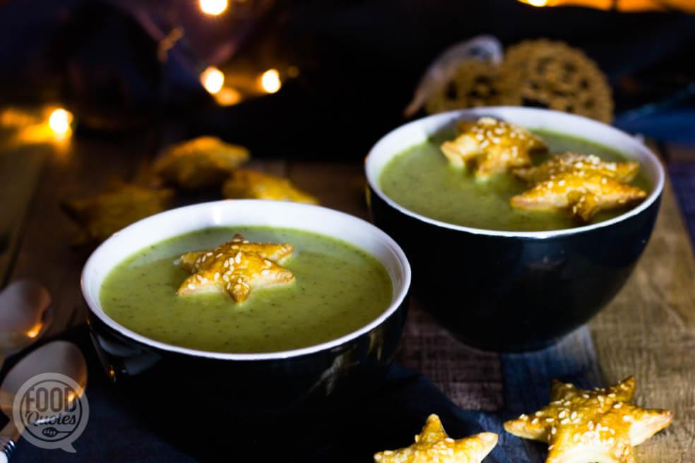 Romige broccolisoep met een twist