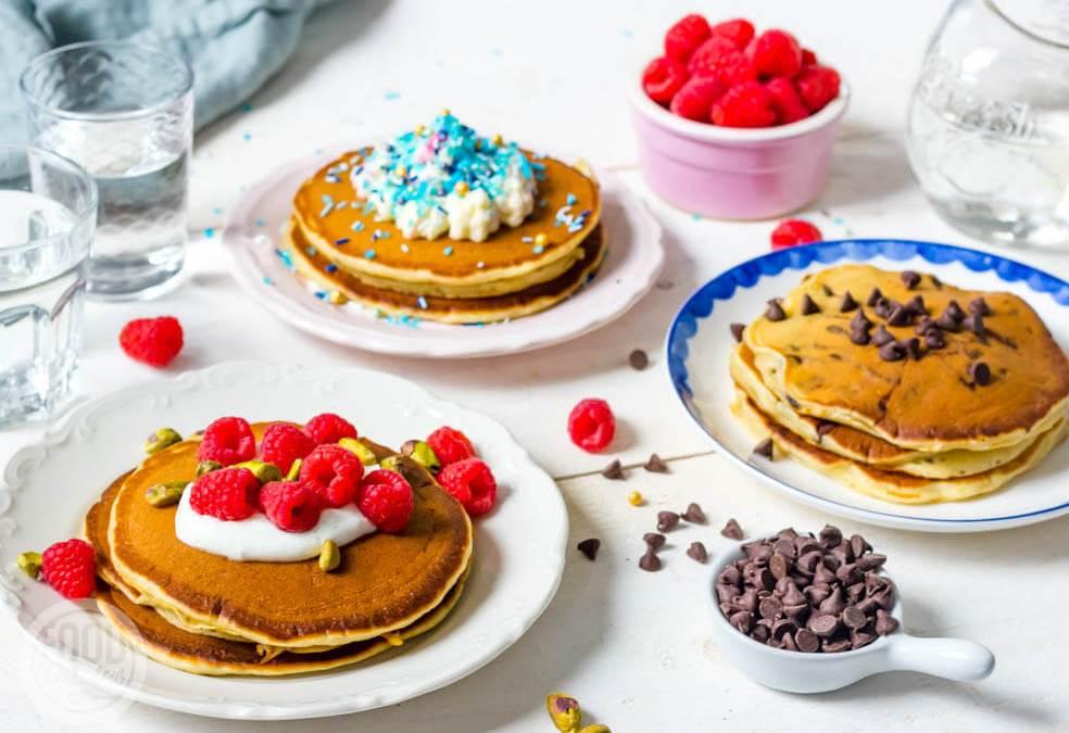 Amerikaanse pannenkoeken – 3 x een zoet ontbijtfeestje!