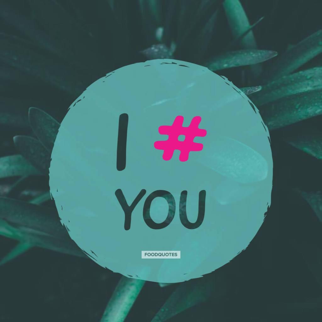 i # you