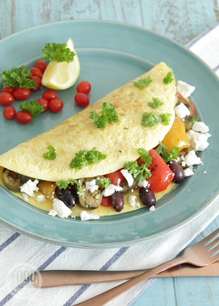 Mediterraanse omelet