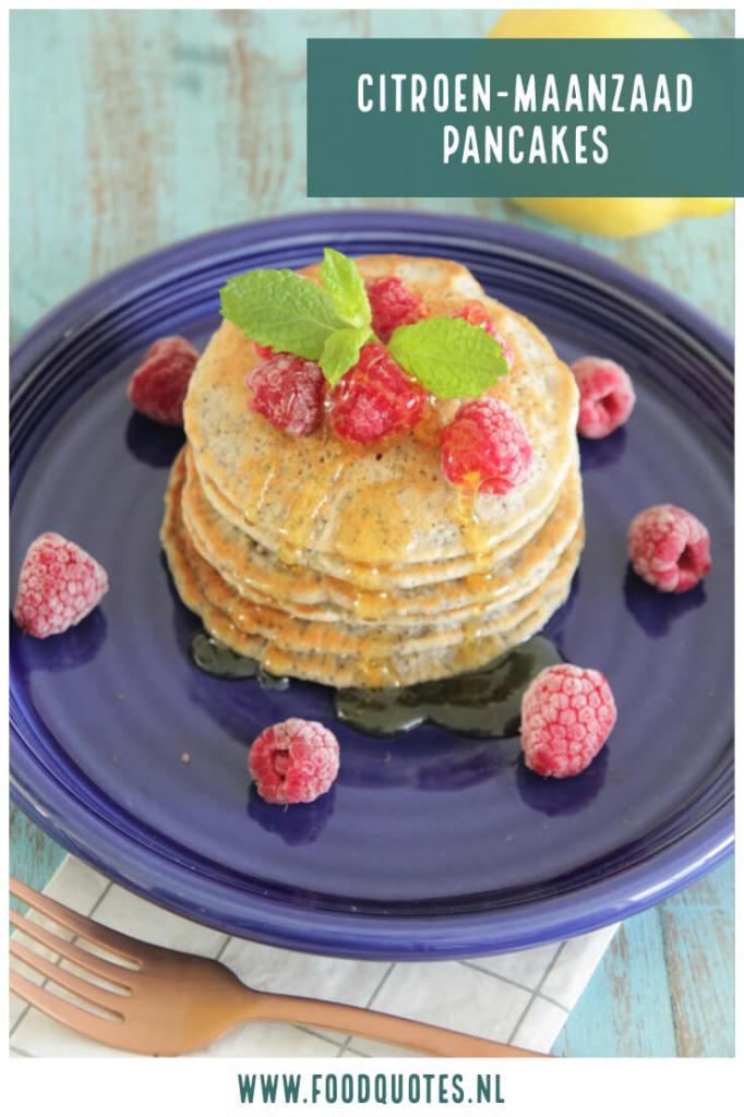 citroen-maanzaad pancakes