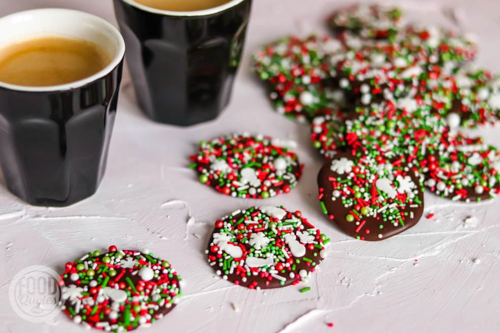 Kerst chocoladeflikken