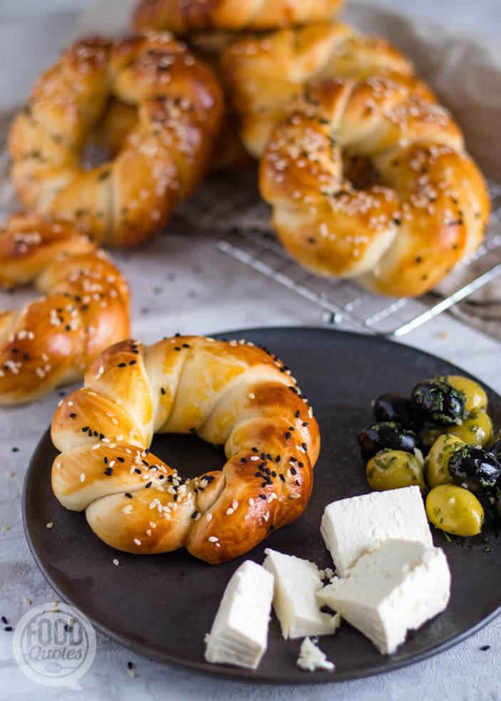 açma Turkse zachte broodjes