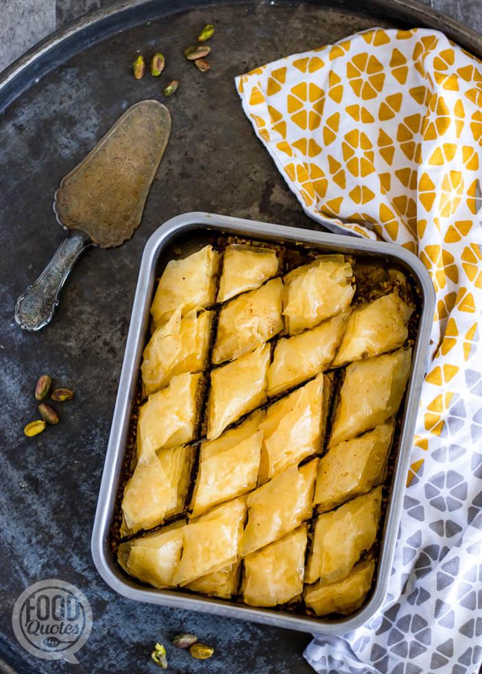 baklava met pistache