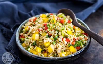 Grove bulgur salade