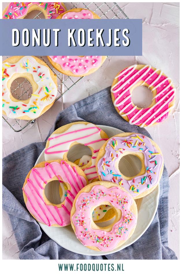 Donut koekjes