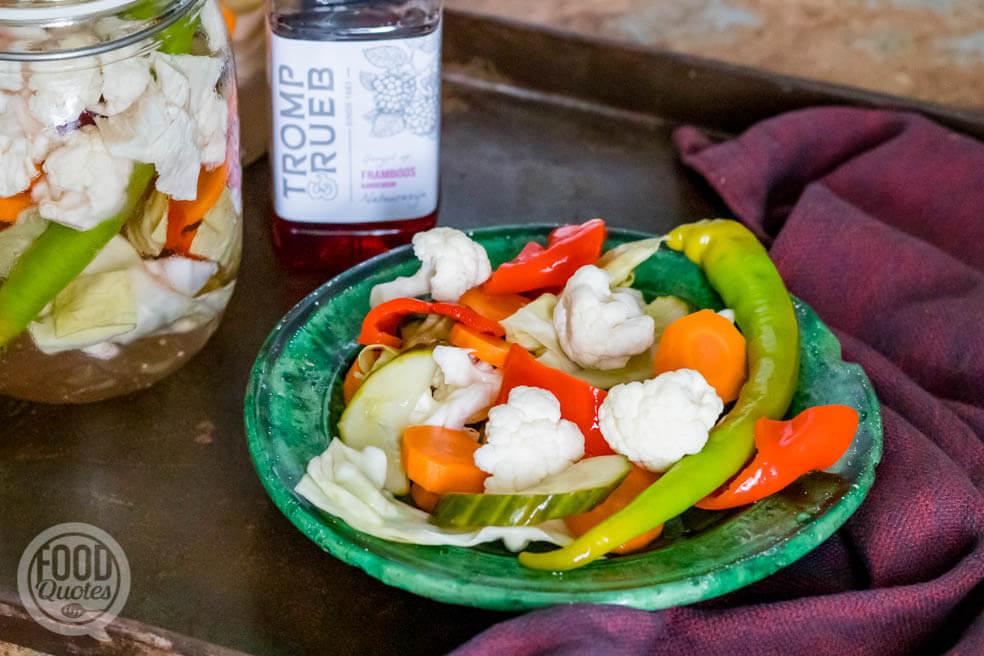 Tursu – Turkse ingemaakte groenten