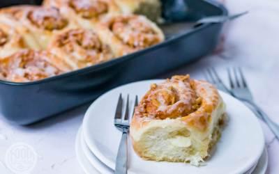 zoete broodjes met walnoten