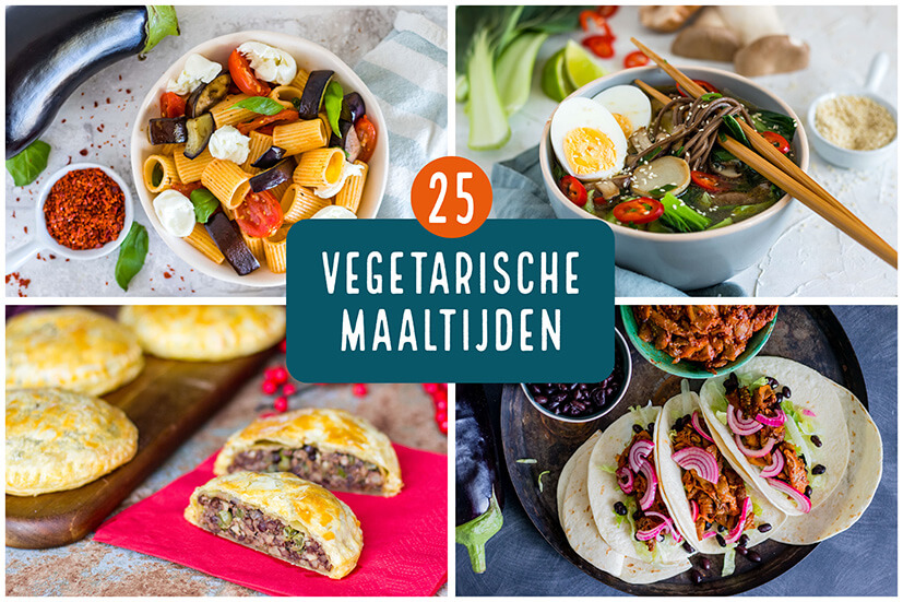 25 x vegetarisch eten voor de nationale week zonder vlees