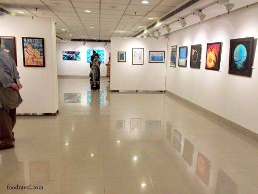 Art Exhibition at AIFACS, New Delhi
