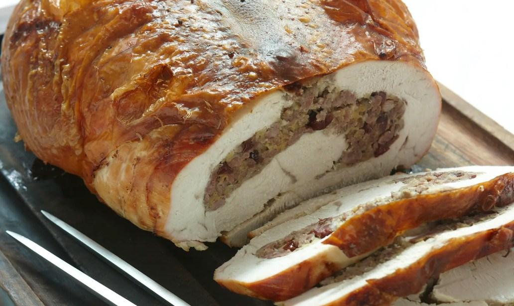 Stuffed roast turkey breast – Recipe 1
