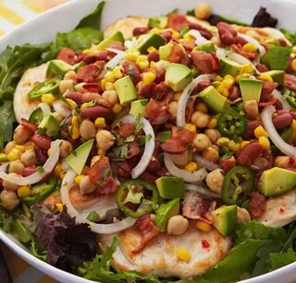 Mustard chicken with bean salad – Recipe 2