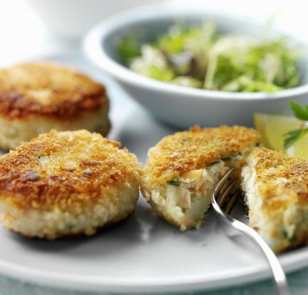 Easy smoked mackerel fishcakes – Recipe 1