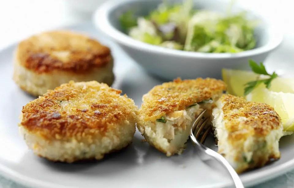 Easy smoked mackerel fishcakes – Recipe 1