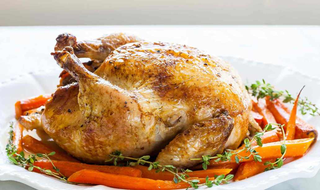 This is how to make roasted Chicken – Recipe 1
