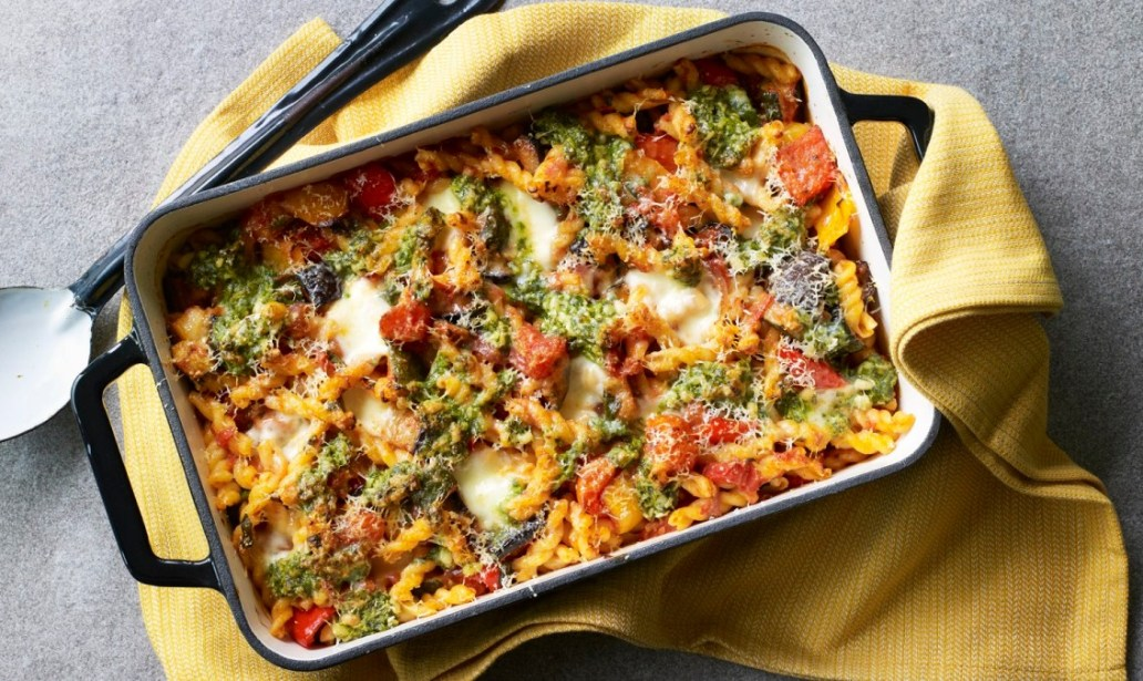 Easy Vegetable pasta bake food recipes