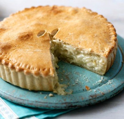 Cheese and onion pie food recipes