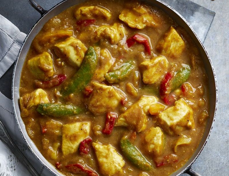 Chinese chicken curry food recipes