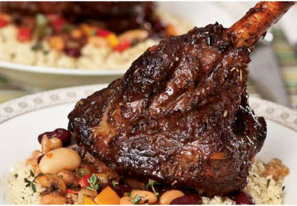 How to make tender braised lamb shank 1