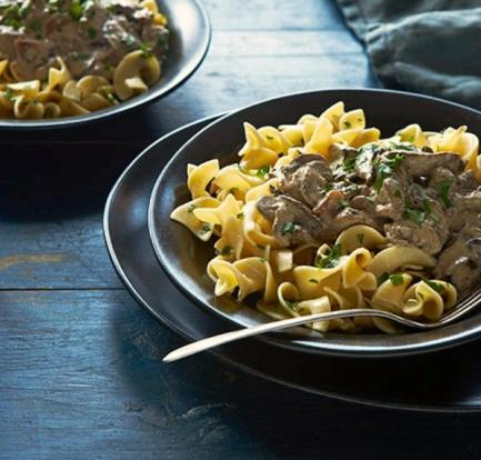 Pocket-friendly peri-peri chicken livers with mushrooms and pasta 2