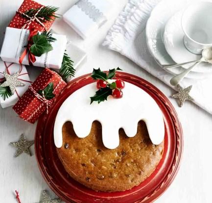Christmas pudding cake – Recipe 2