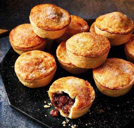 Homemade mince pies food recipes