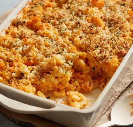 Macaroni cauliflower cheese – Recipe 4