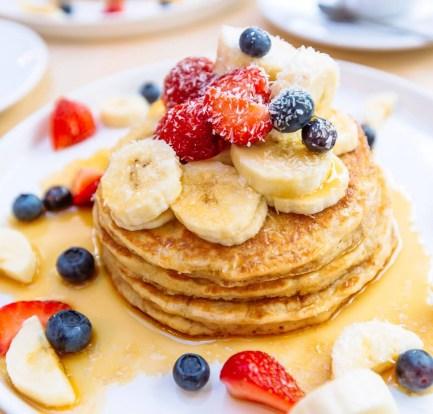 Gluten-free and vegan Egg-free pancakes that taste absolutely delicious