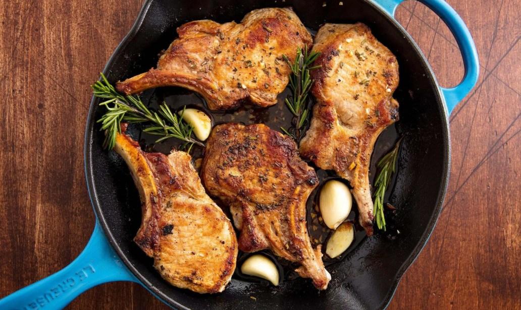 Honey mustard pork chops – Recipe 1