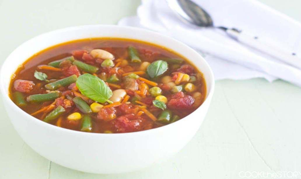 Hearty vegetable soup – Recipe 1