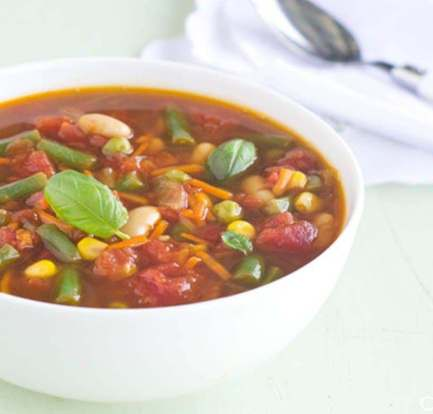 Hearty vegetable soup – Recipe 11