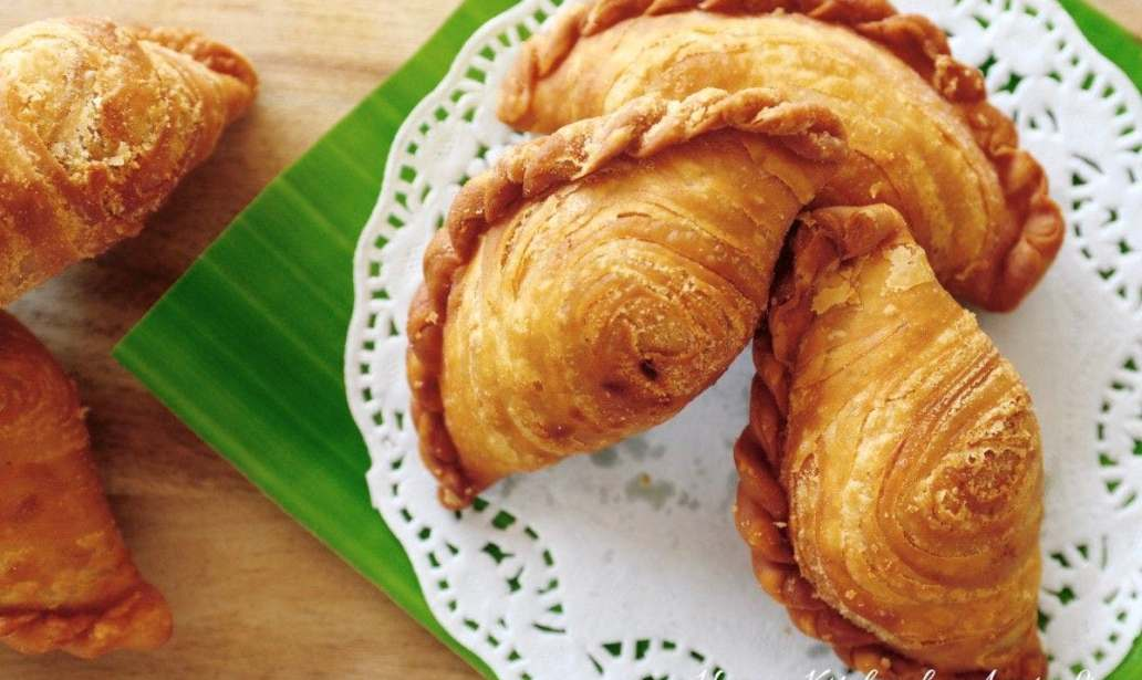 Easy Vegetarian Curry Puffs – Recipe 1