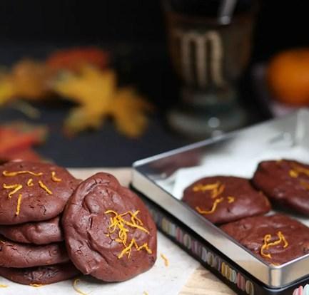 Chocolate orange biscuits – Recipe 1
