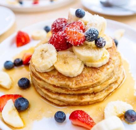 Easy, healthy banana oat pancakes – Recipe 3