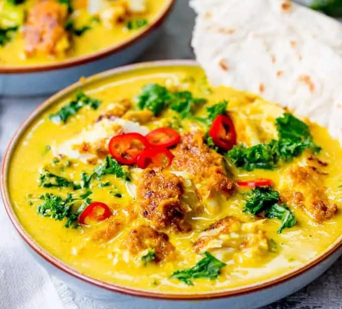 Thai fish curry – Recipe 1