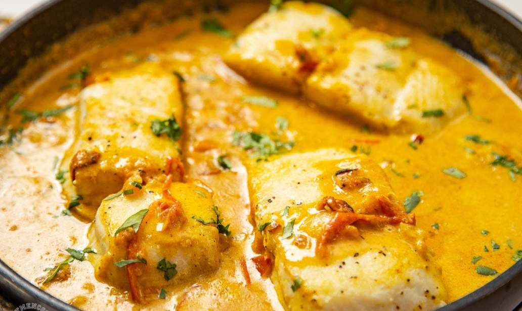 Quick and easy to make coconut fish curry – Recipe 1