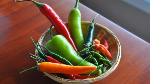 These nine chilies give Thai cuisine its ubiquitous spicy character. (Photos: Cat Lau.)