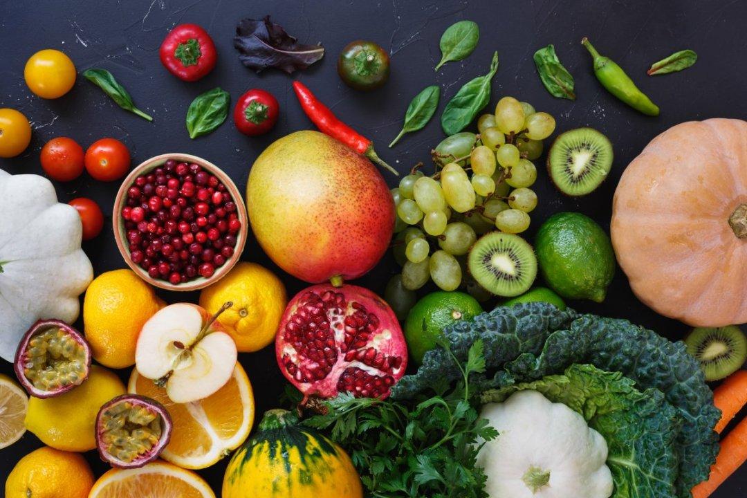 高抗氧化劑的水果和蔬菜