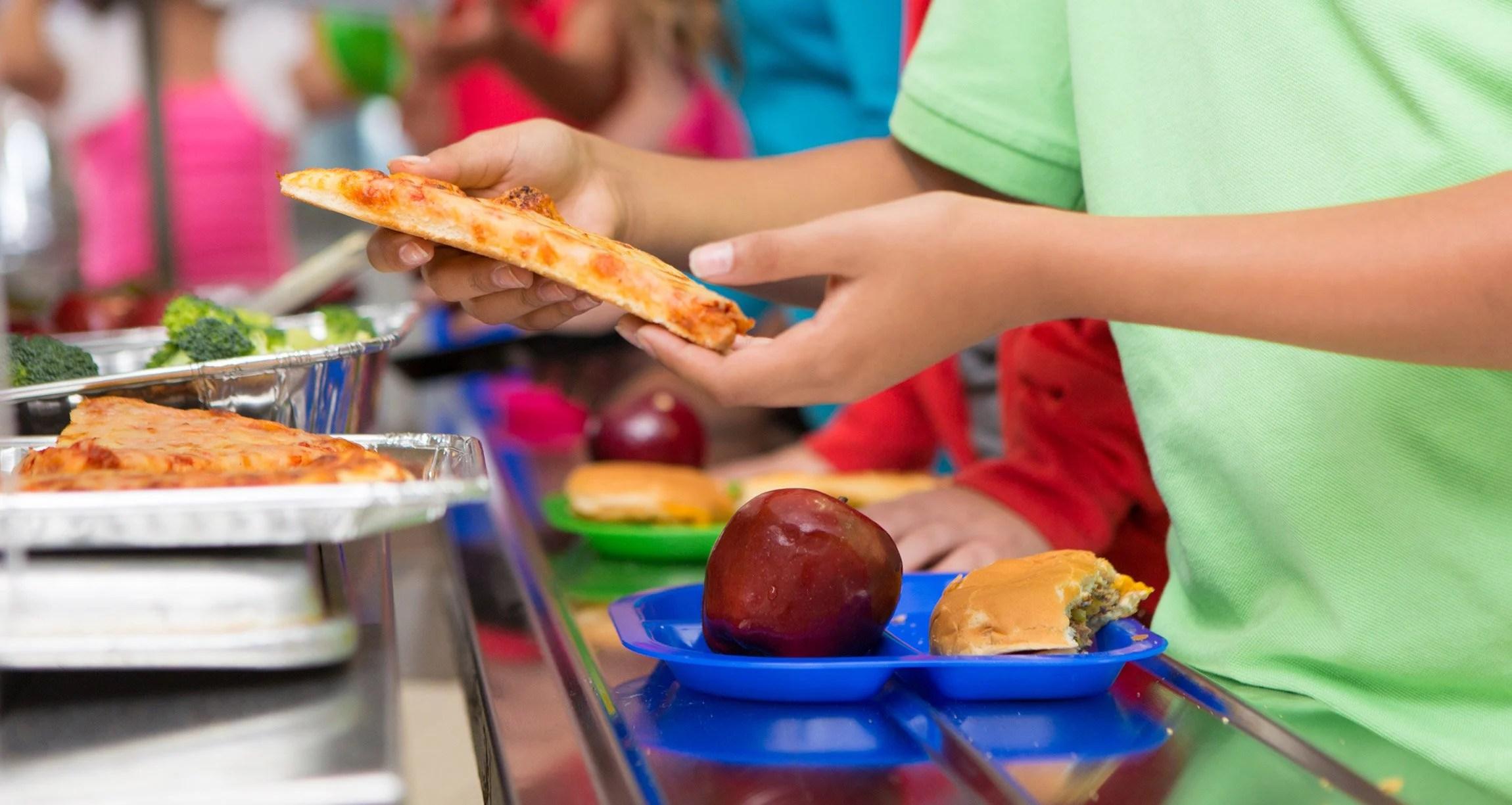 school lunch in america