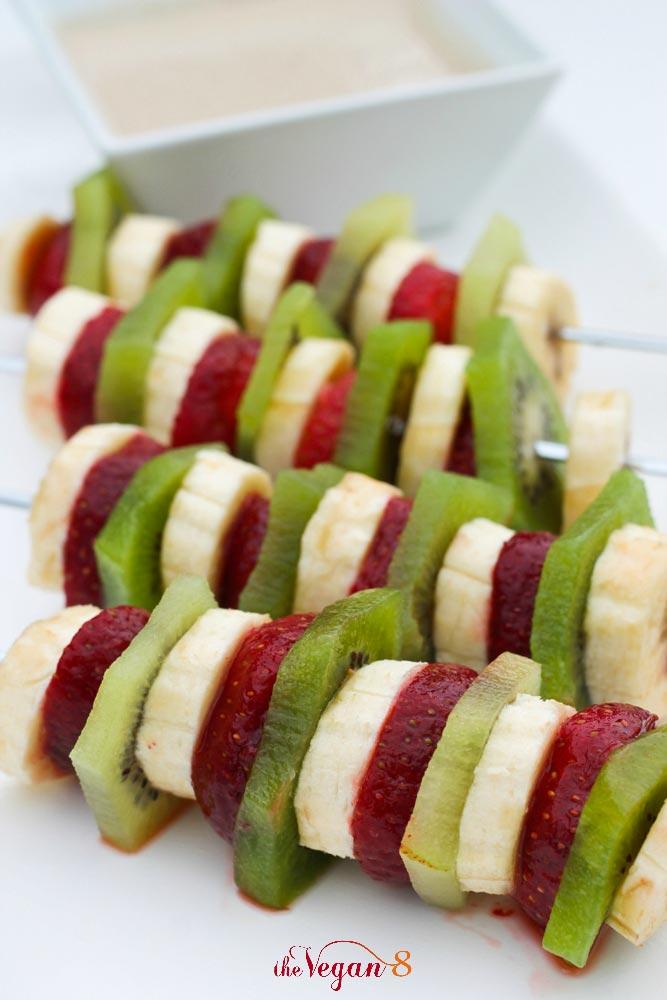 水果沙拉烤肉